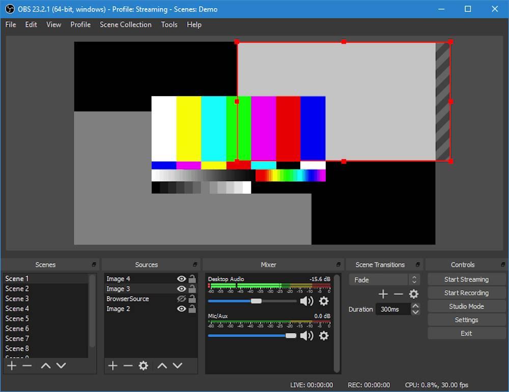 OBS Studio bietet eine Vielzahl an Funktionen – und ist komplett kostenlos.