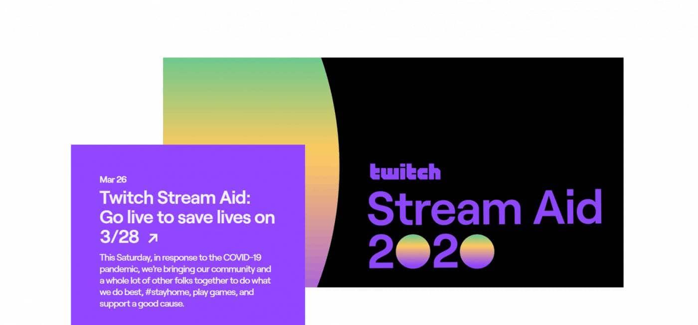 Twitch Spenden Stream im März 2020 COVID-19