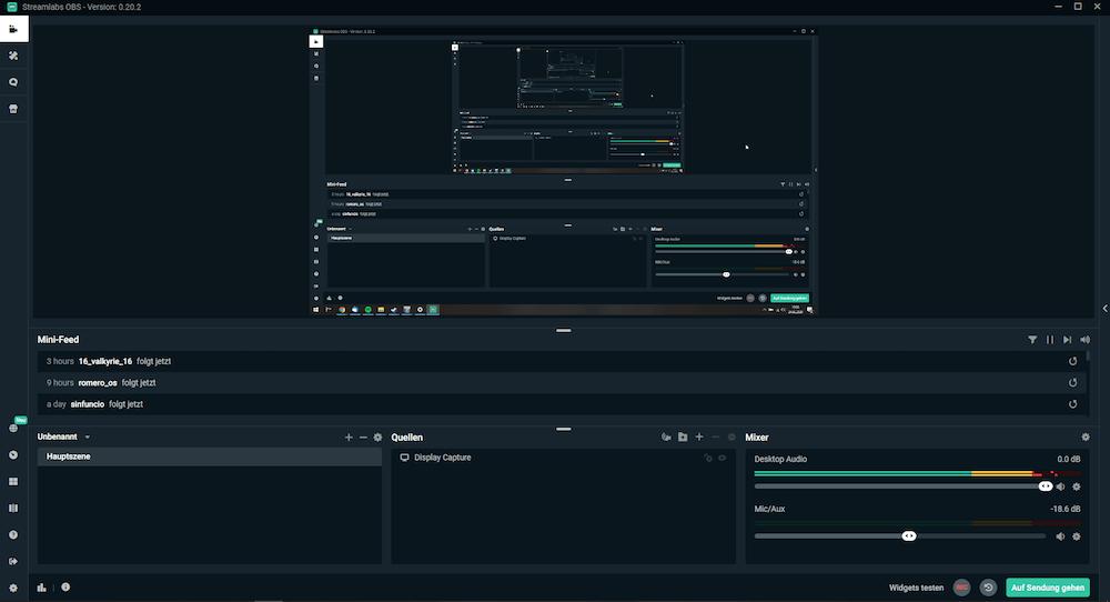 Streamlabs OBS ist noch in der Beta-Phase, punktet jedoch durch altbekannte Features