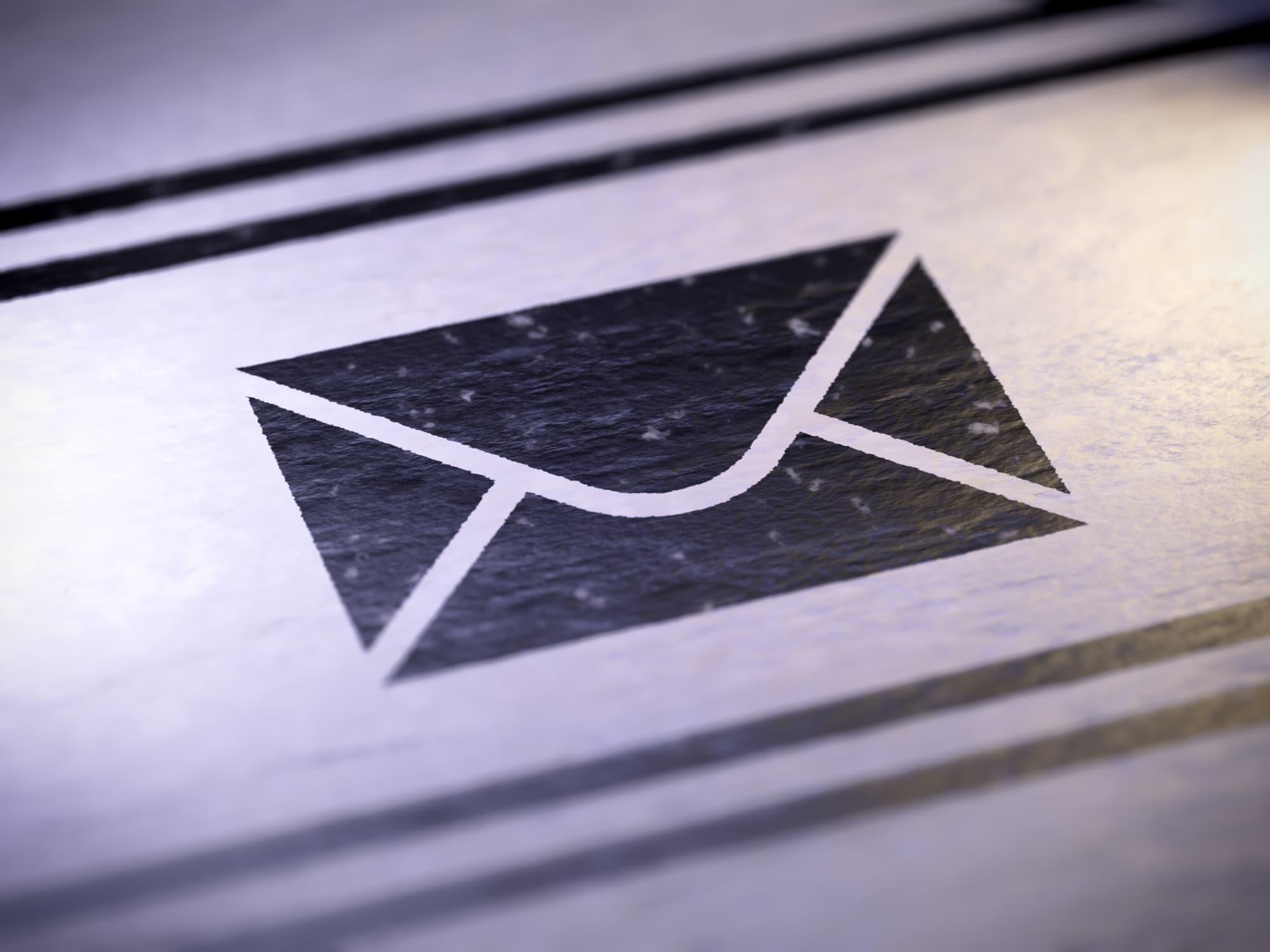 Umschlag Kontakt Post Email