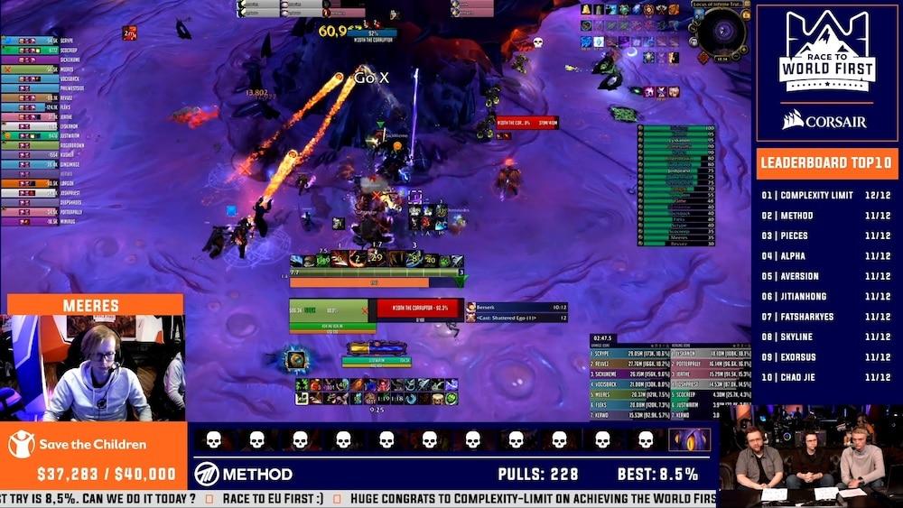 World of Warcraft Gilde Method präsentiert ihren Raid-Fortschritt