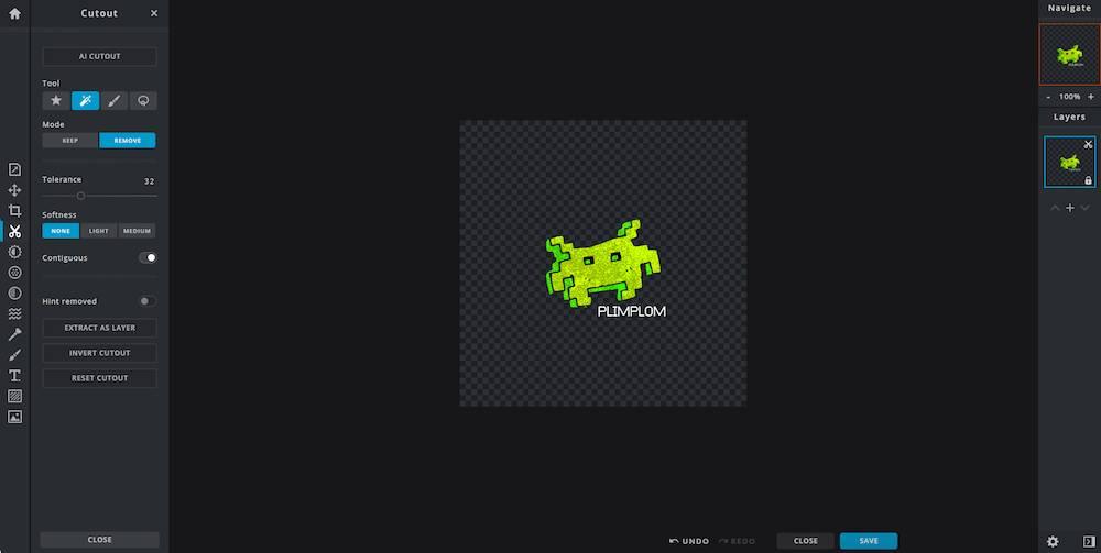 Twitch Emotes online erstellen mit Pixlr