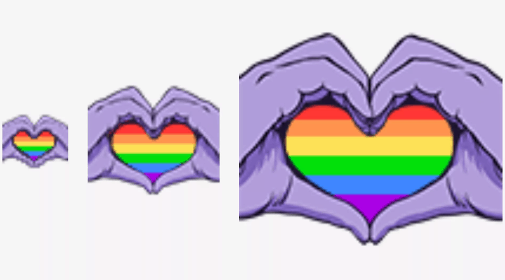 Gaypride emote twitch