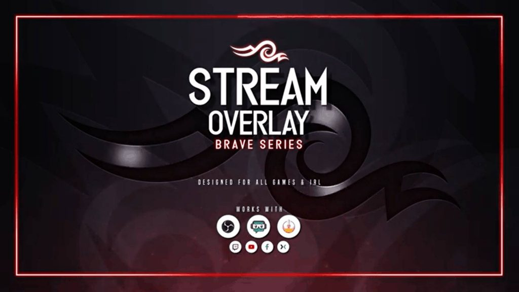 Top Twitch Overlays Brave Series owned.tv