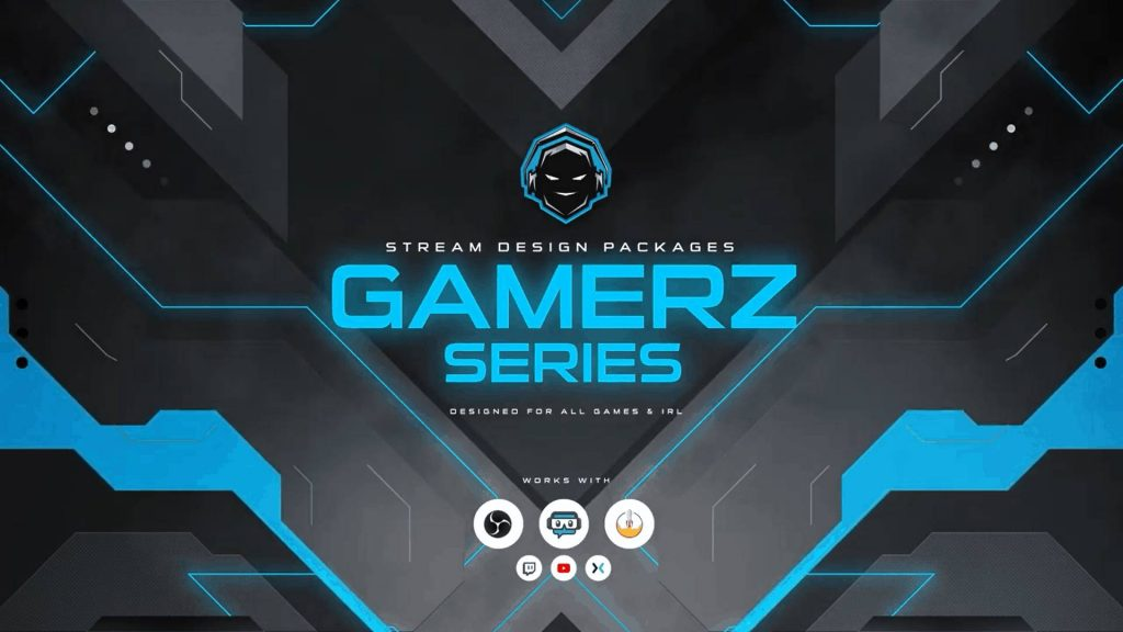 Top Twitch Overlays Gamerz Series owned.tv