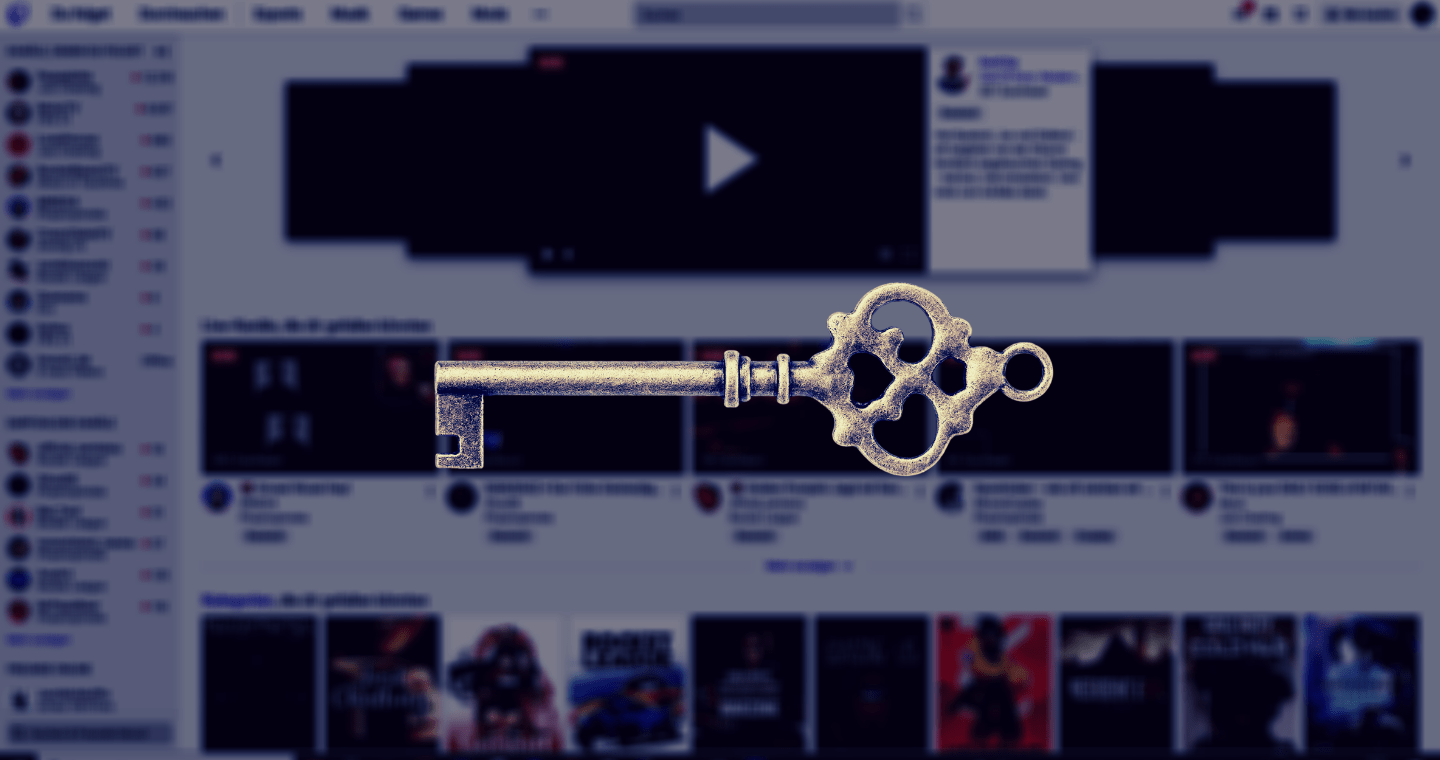 twitch stream key finden header