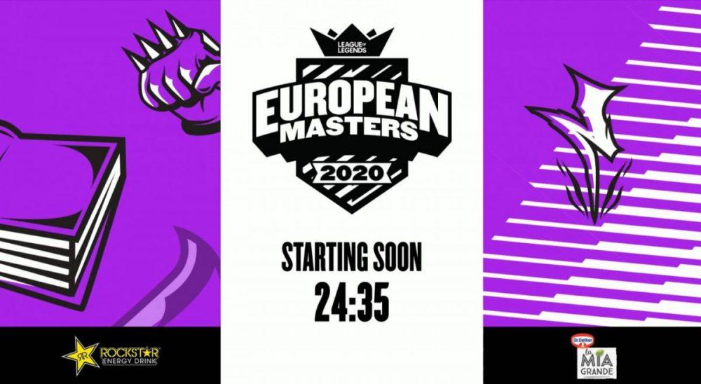 Twitch ESL DreamHack European Masters NEWS LoL