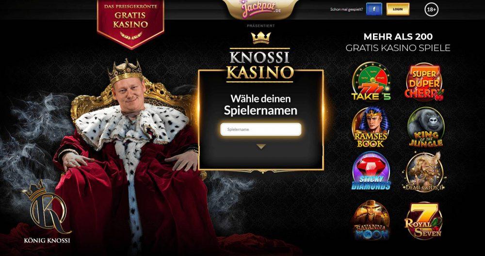 Was ist Knossi Kasino Gratis Kasino mit über 200 Spielen