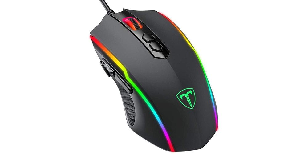 Die günstige Gaming Maus mit RGB-Beleuchtung