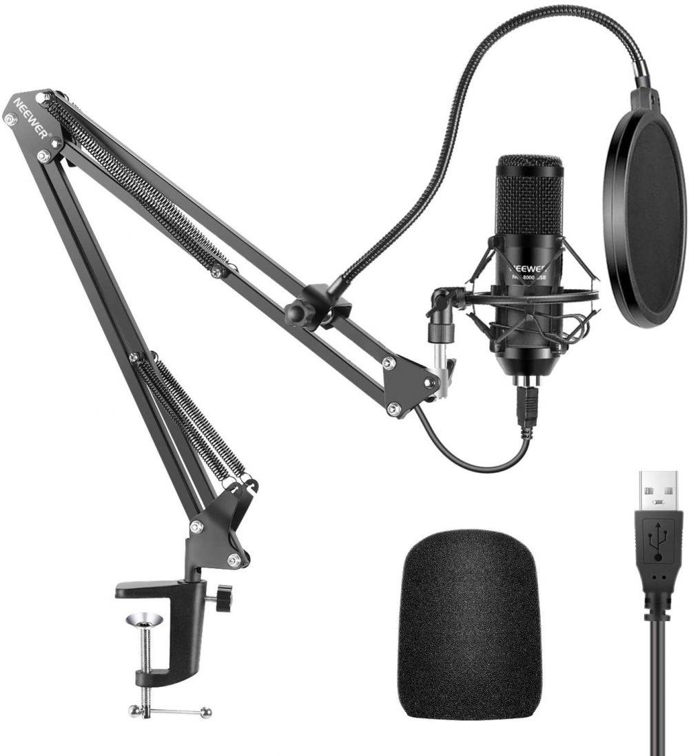 Das praktische Streaming-Mikrofon-Set zum kleinen Preis