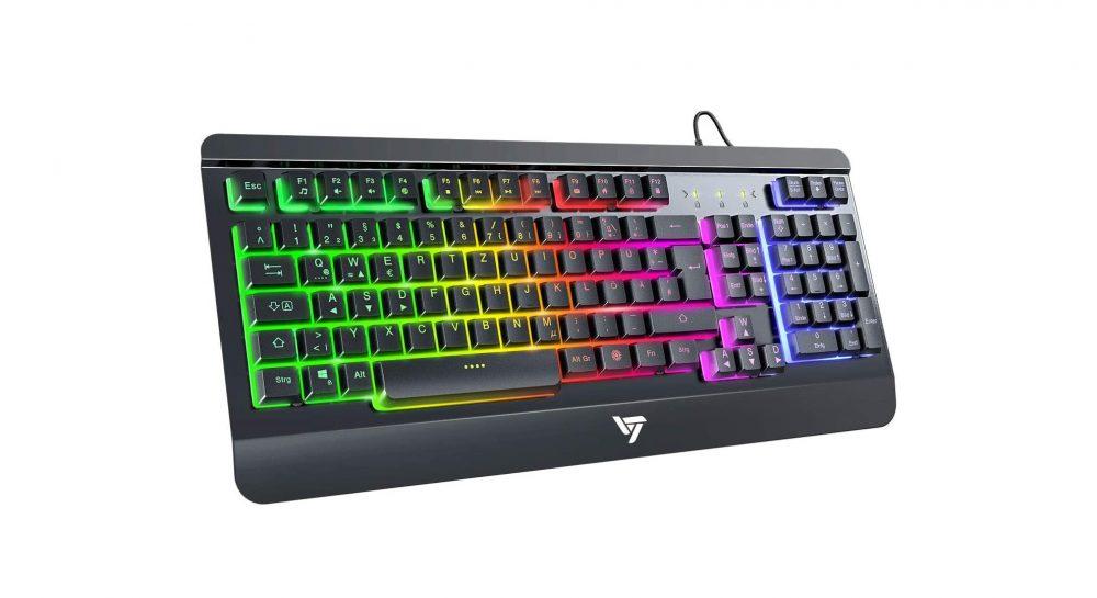 Die RGB-Gaming-Tastatur zum geringen Preis