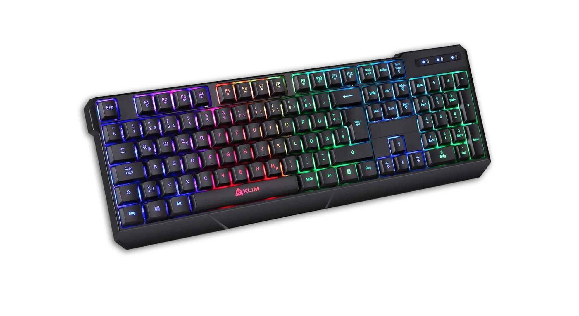 Eine kabellose Gaming Tastatur für wenig Geld