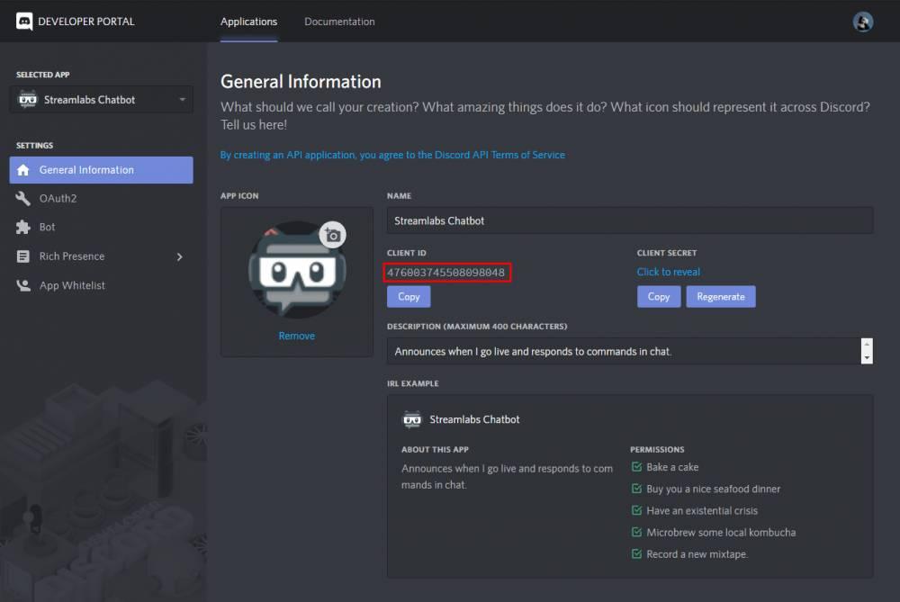 Der Streamlabs Chatbot weist zahlreiche Schnittstellen auf