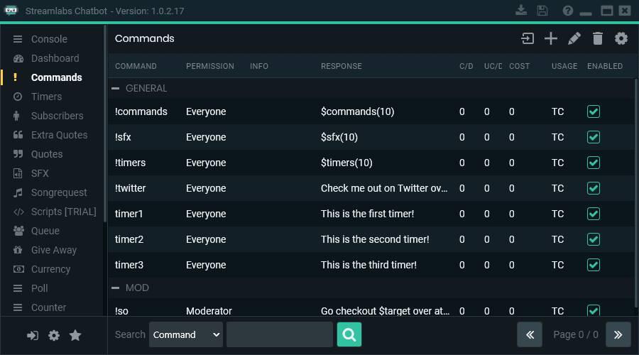 Diese Streamlabs Chatbot Befehle sind denkbar