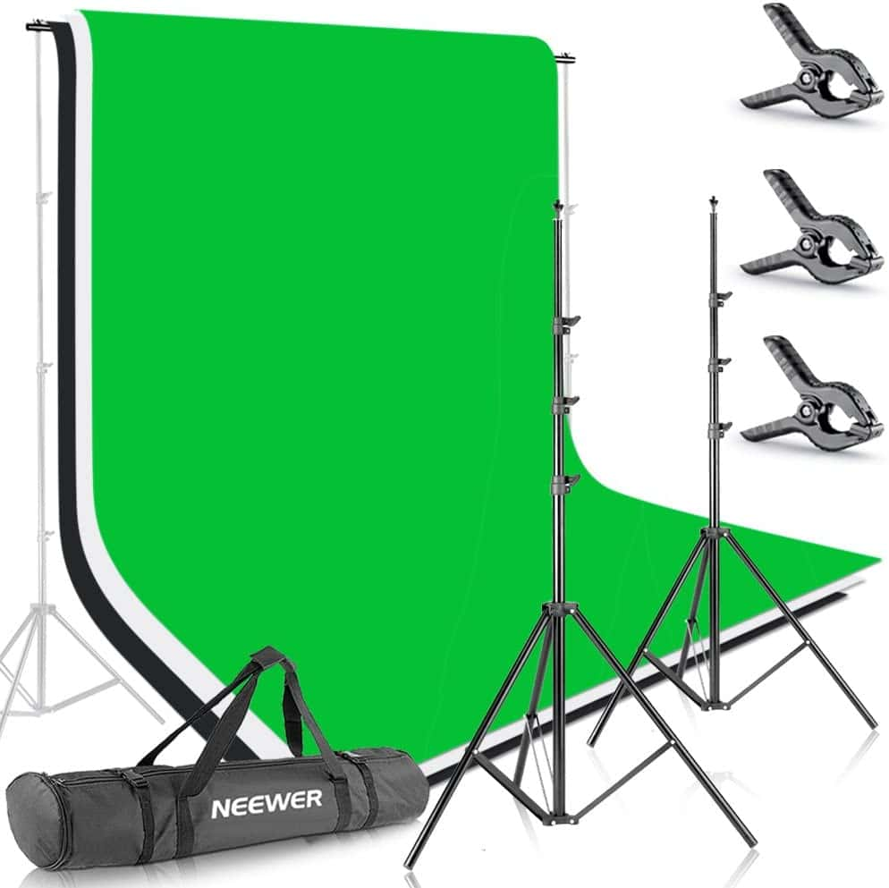 Das ideale Greenscreen Set für Videoaufnahmen und Fotografie