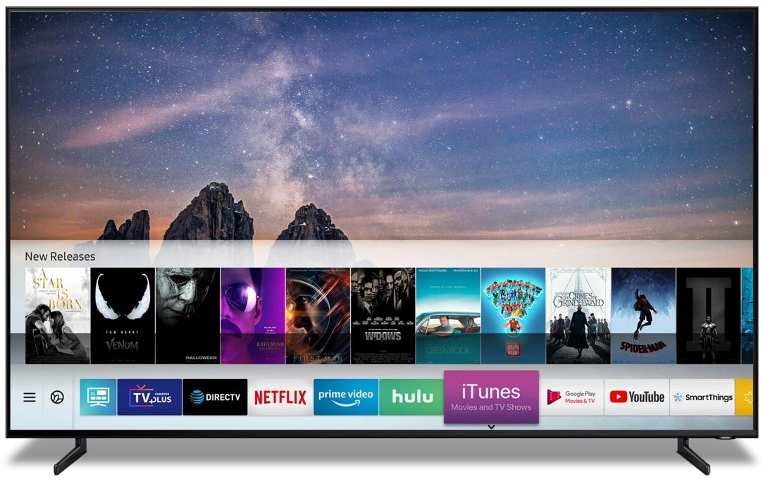 Streaming Apps auf dem neusten Samsung TV
