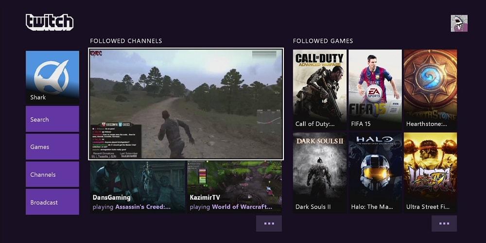 Twitch auf TV streamen mit der Xbox One