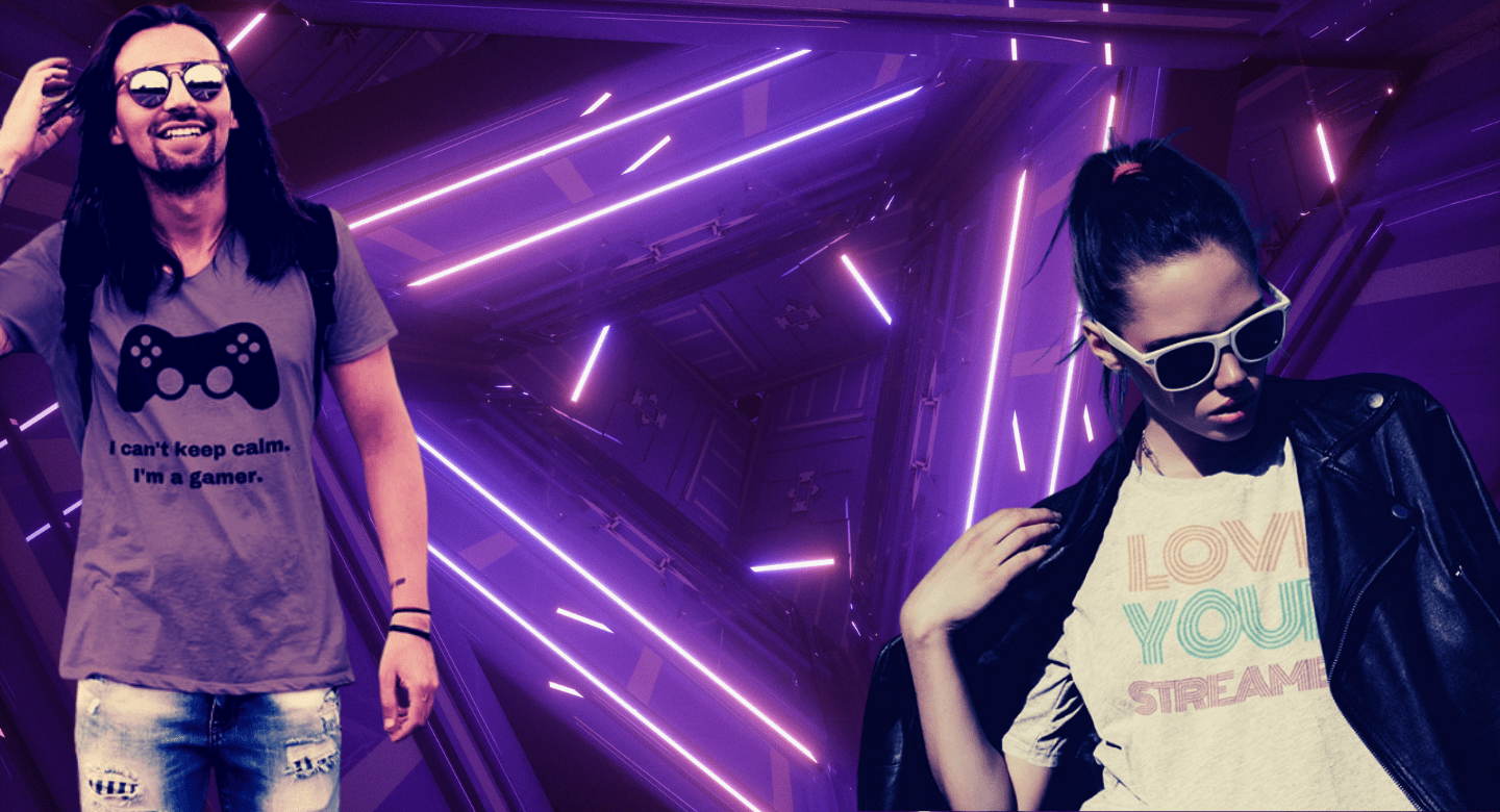 gaming merchandise header