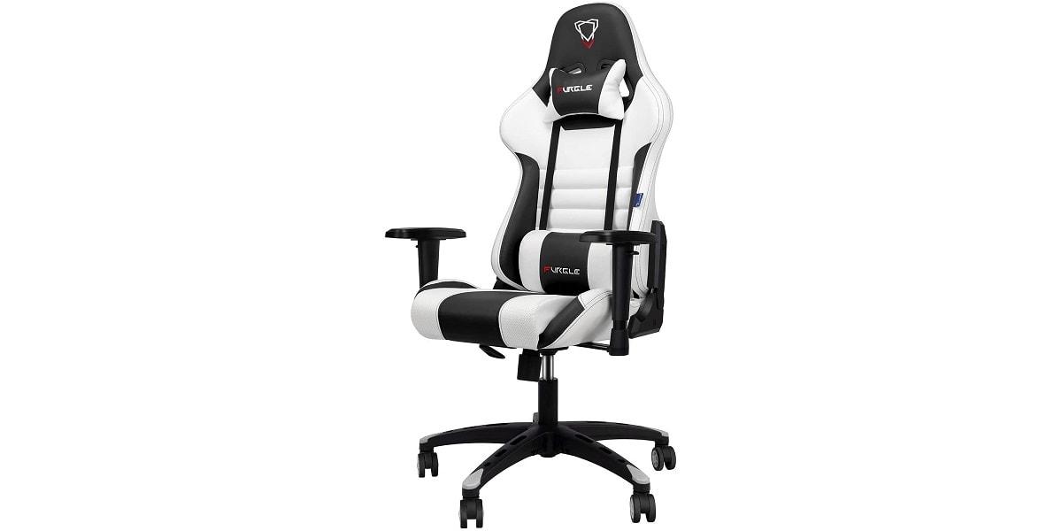 Der Gaming Chair mit optional horizontaler Rückenlehne